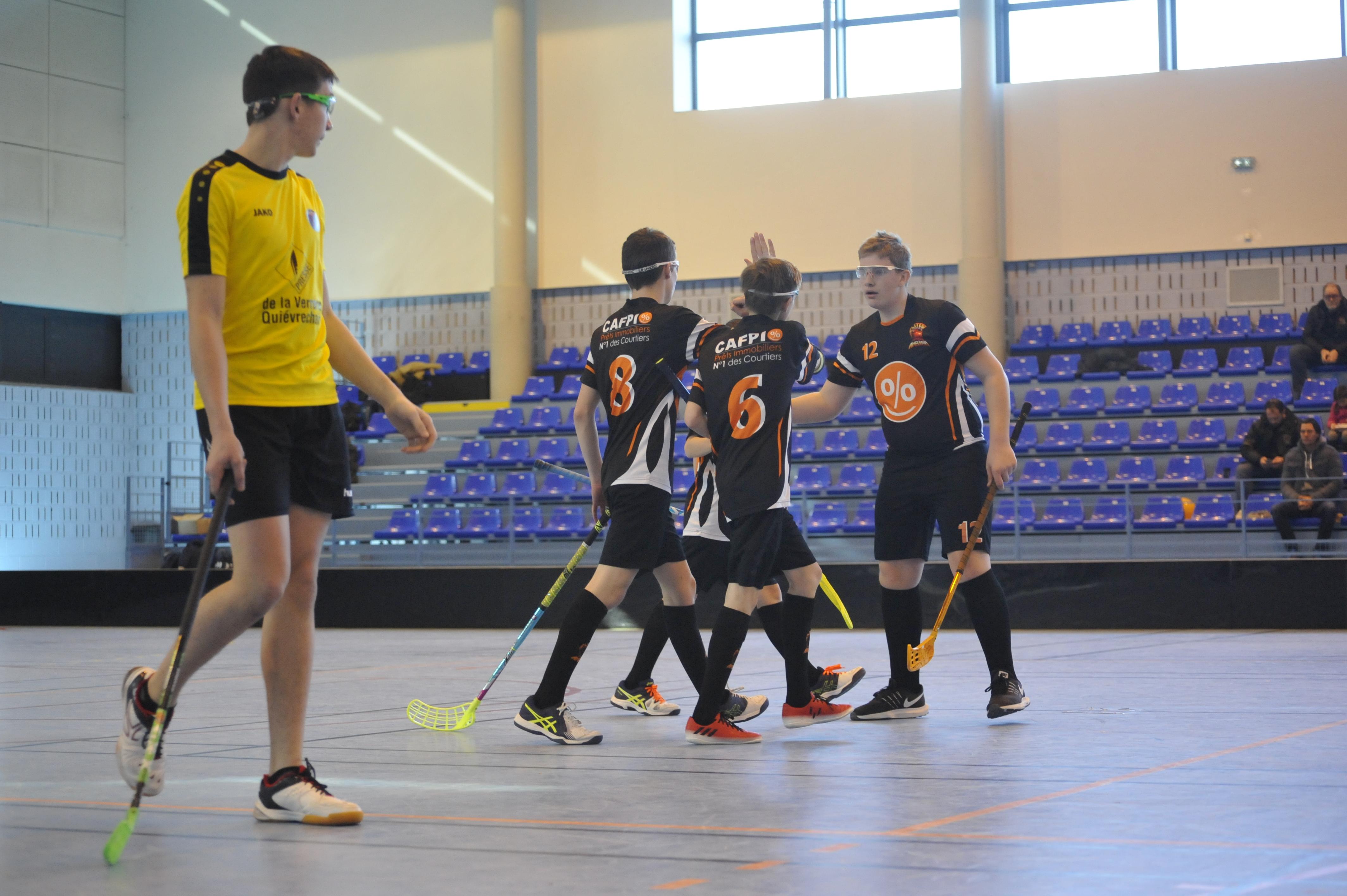 Floorball Hoplites : Amiens - Quiévrechain