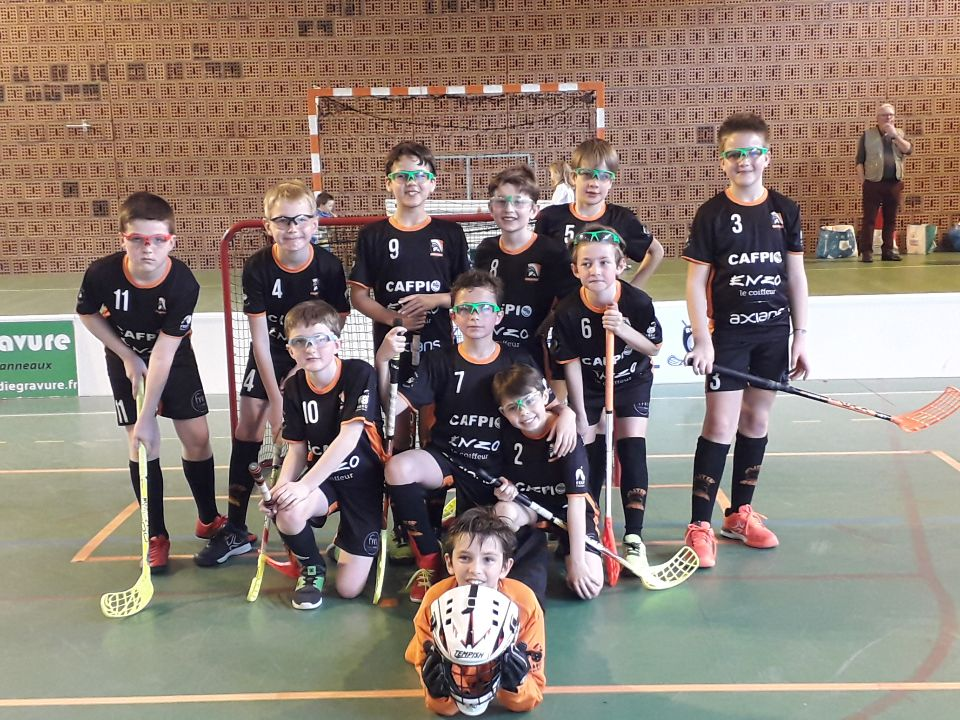 U12 Amiens Floorball